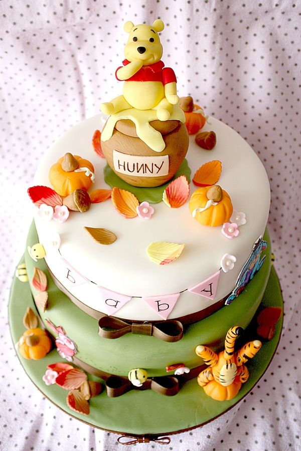 Winnie The Pooh Fall Baby Shower Baby Shower Ideas Pinterest