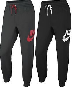 New Men's Nike Joggers Tracksuit Jogging Bottoms Track Sweat Pants - Black  Gray   eBay