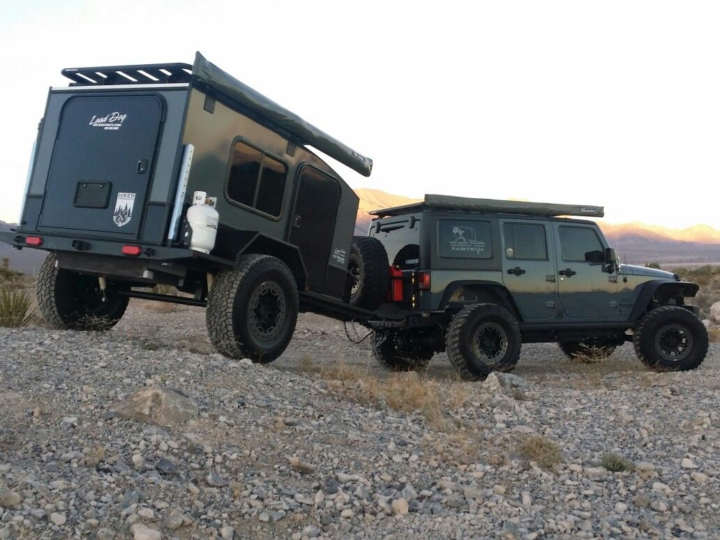 Diy Camper Trailer Off Road Camp Trailers Expedition Truck Camping Utility Quad Caravan Campers