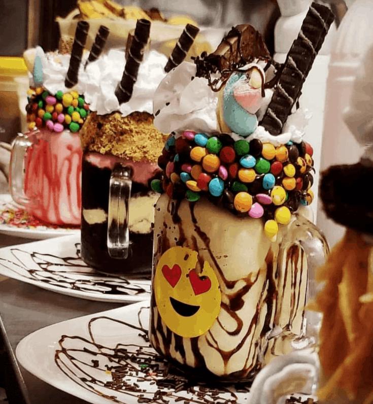 25 Best Milkshakes In The World Best Milkshakes Milkshake Dessert Drinks