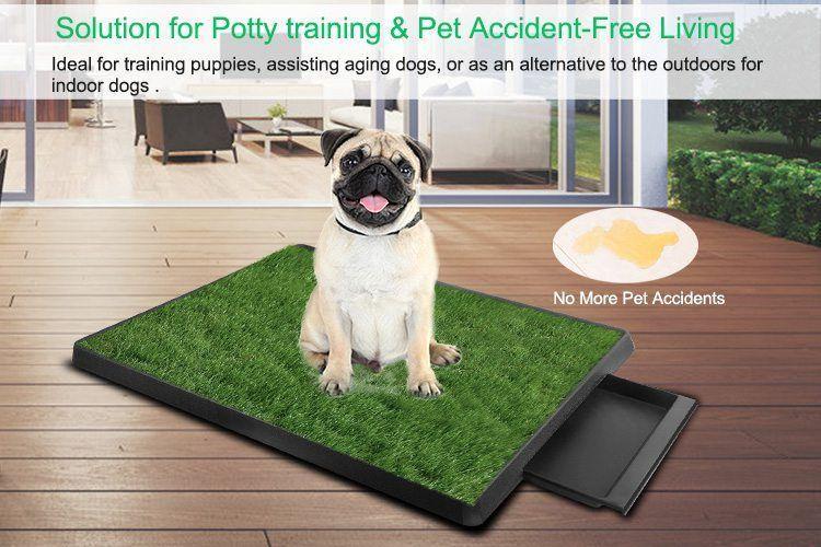 Dog Toilets 20 Balcony Pet Potty Balcony Pet Potty Pet Toilet Indoor Pet Potty Clean Pet Potty Dog Potty Dog Toile In 2020 Dog Toilet Dog Potty Indoor Pets