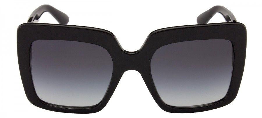6cb73b8b71 Dolce & Gabbana DG4310 - Preto Brilhante - 501 - 8G/52   Óculos ...