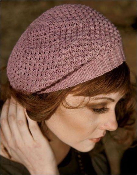 Beret Knitting Patterns Hats Knit Pinterest Berets