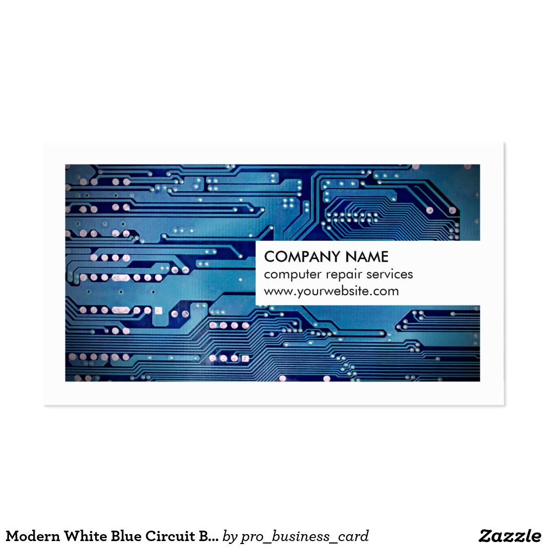 Computer Repair Business Card Choice Image - Free Business Cards
