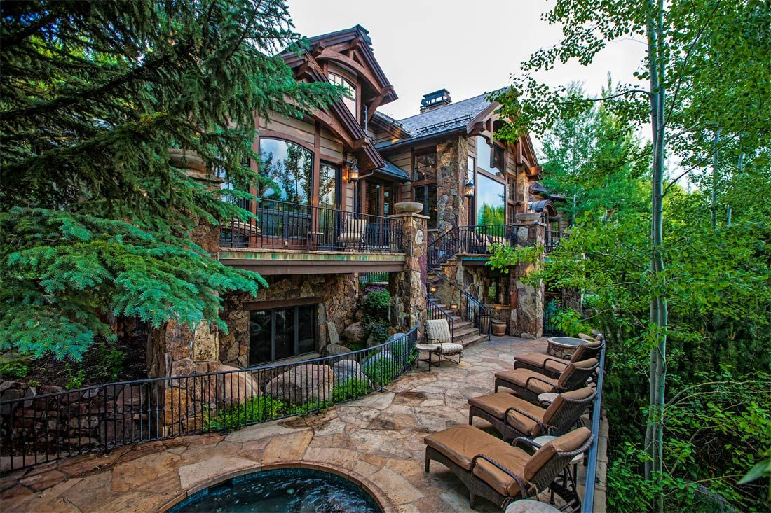 Le grande vues in aspen colorado http mansion for Most expensive homes in colorado