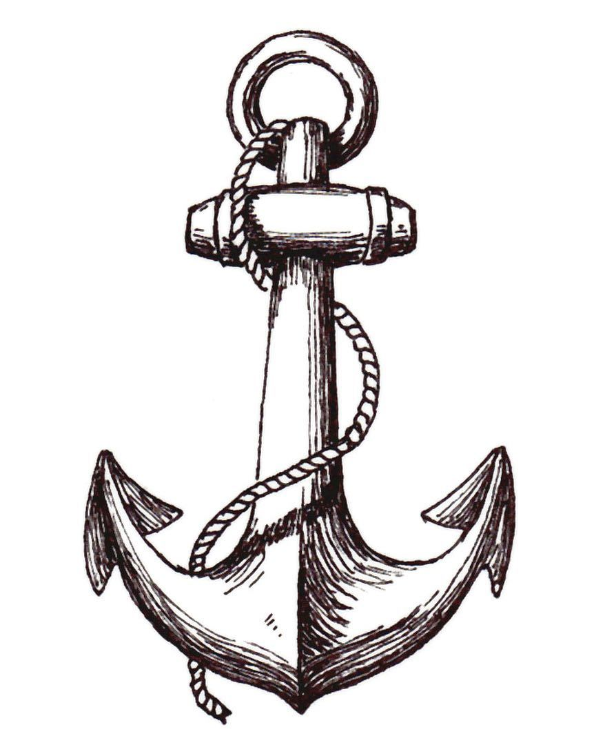 Day 21 100daysofocean Anchor Homage To A Classic Nautical Tattoo