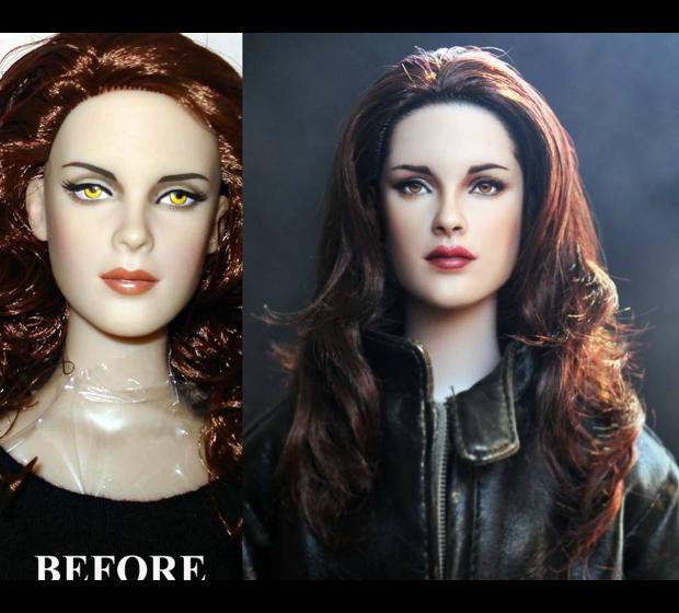 Famosos viram bonecos incrivelmente realistas: técnica usa maquiagem; veja