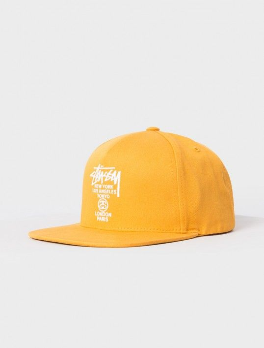 d86d7a67a39 STÜSSY World Tour SU16 Snapback