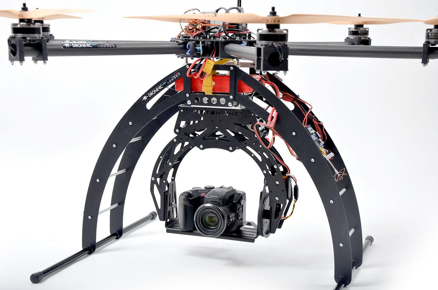 The latest UAV by Drone RC with Xoar Precision Pair http