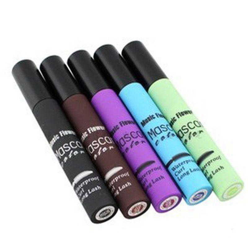 1 Stücke Neue 5 Farben/Set Lash Mascara Wimpern Wasserdicht Für Die Eye Mascara Colossal Make-Up Mascara Kosmetik