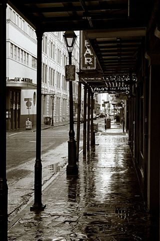 New Orleans Streets Android Wallpaper HD