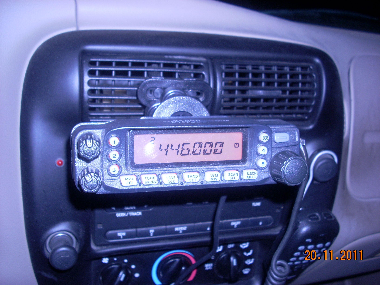 Yaesu FT 7800 dual bander in the mobile | Radio Stuff- Mine