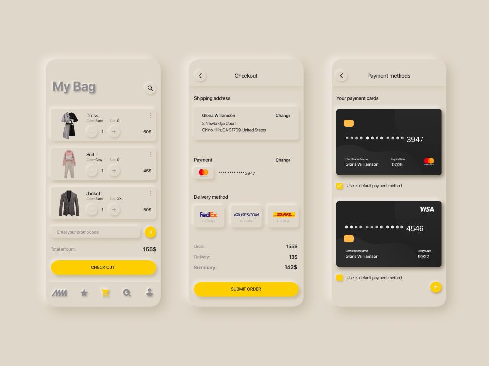 Bag - E-commerce Experience