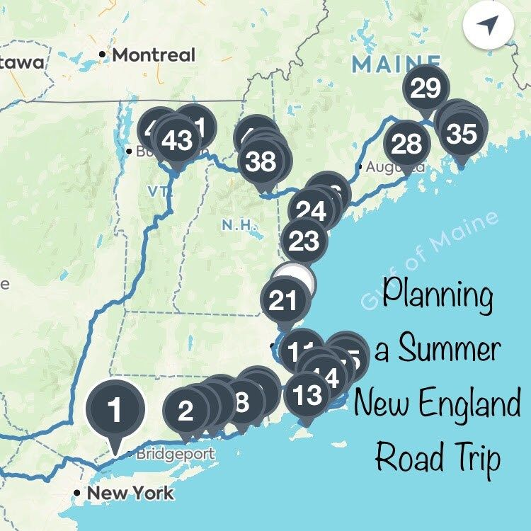Planning a New England Road Trip in 2020 (With images