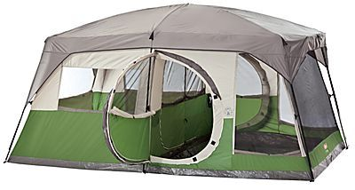Coleman Vacationer 15 X 10 Cabin Tent  sc 1 st  Pinterest & Coleman® Vacationer 2-Room 10-Person 15u0027 x 10u0027 Cabin Tent | Bass ...