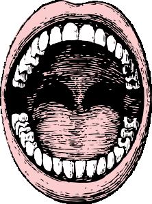 Open Mouth Clip Art Free Vector 4vector Mouth Drawing Open Mouth Drawing Free Clip Art