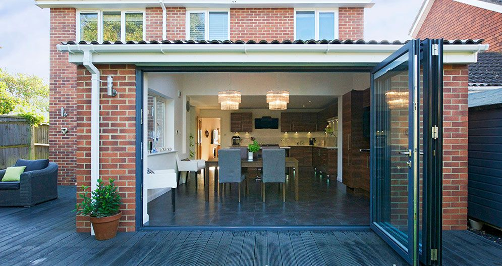 Kitchen Extensions | Bi-Fold Doors | | House Improvement Ideas ...