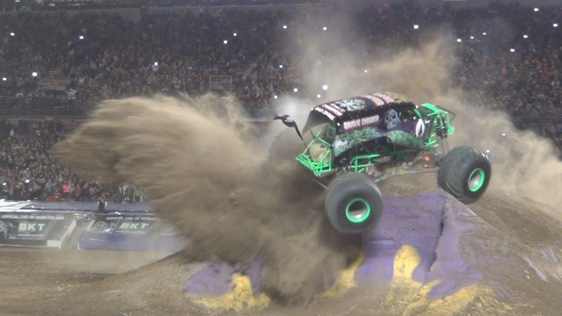 Best Of Monster Truck Grave Digger Jumps Crashes Accident