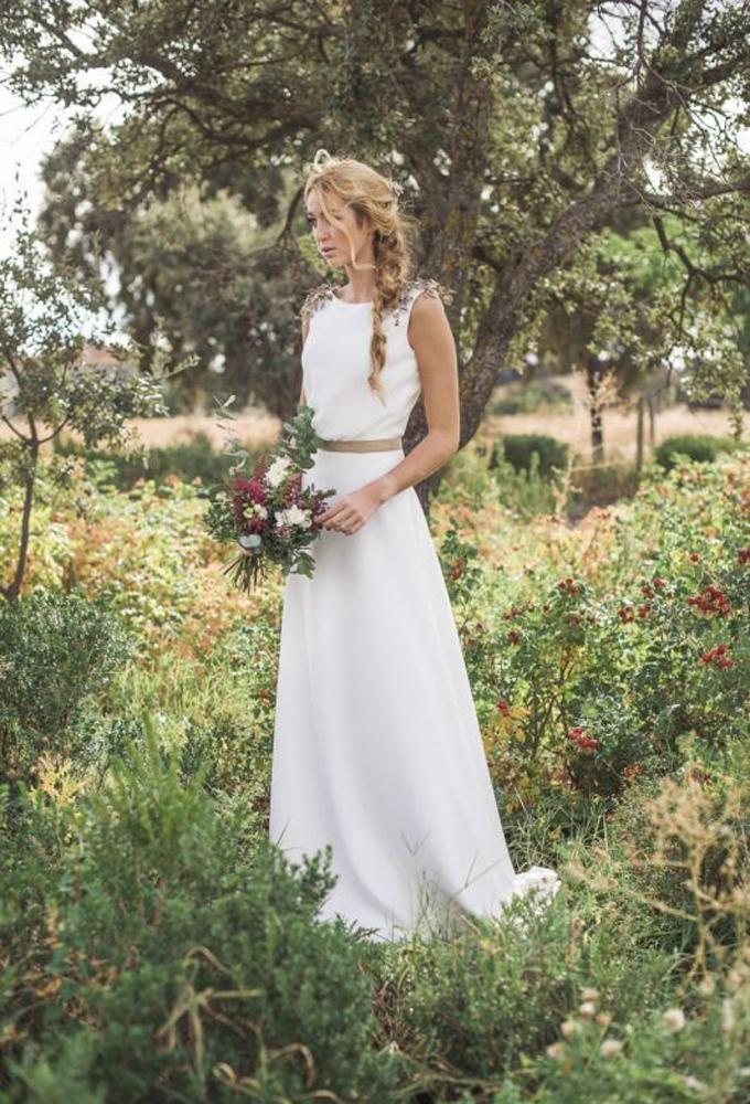 30 vestidos de novia que no podrás olvidar esta temporada – Bucólico  – Boda