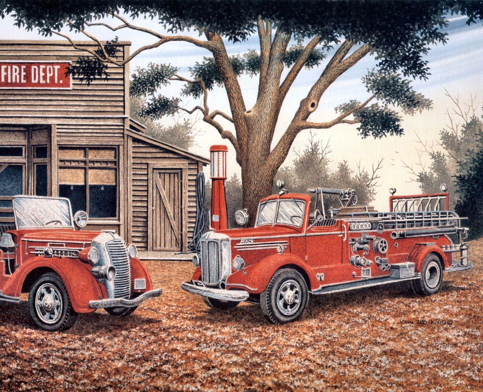 Fire Department by John Zed King