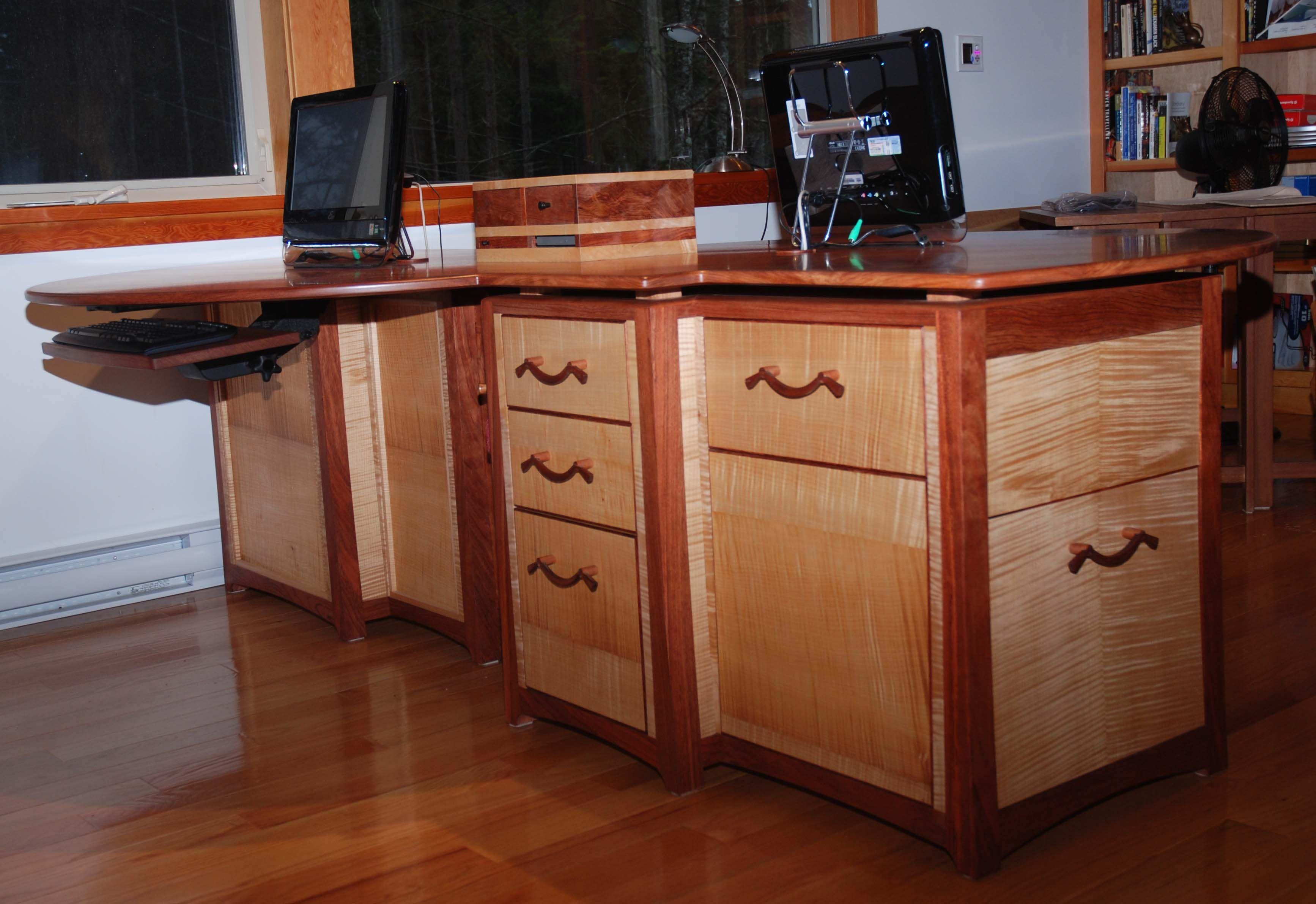 Curly Maple Cabinet Doors