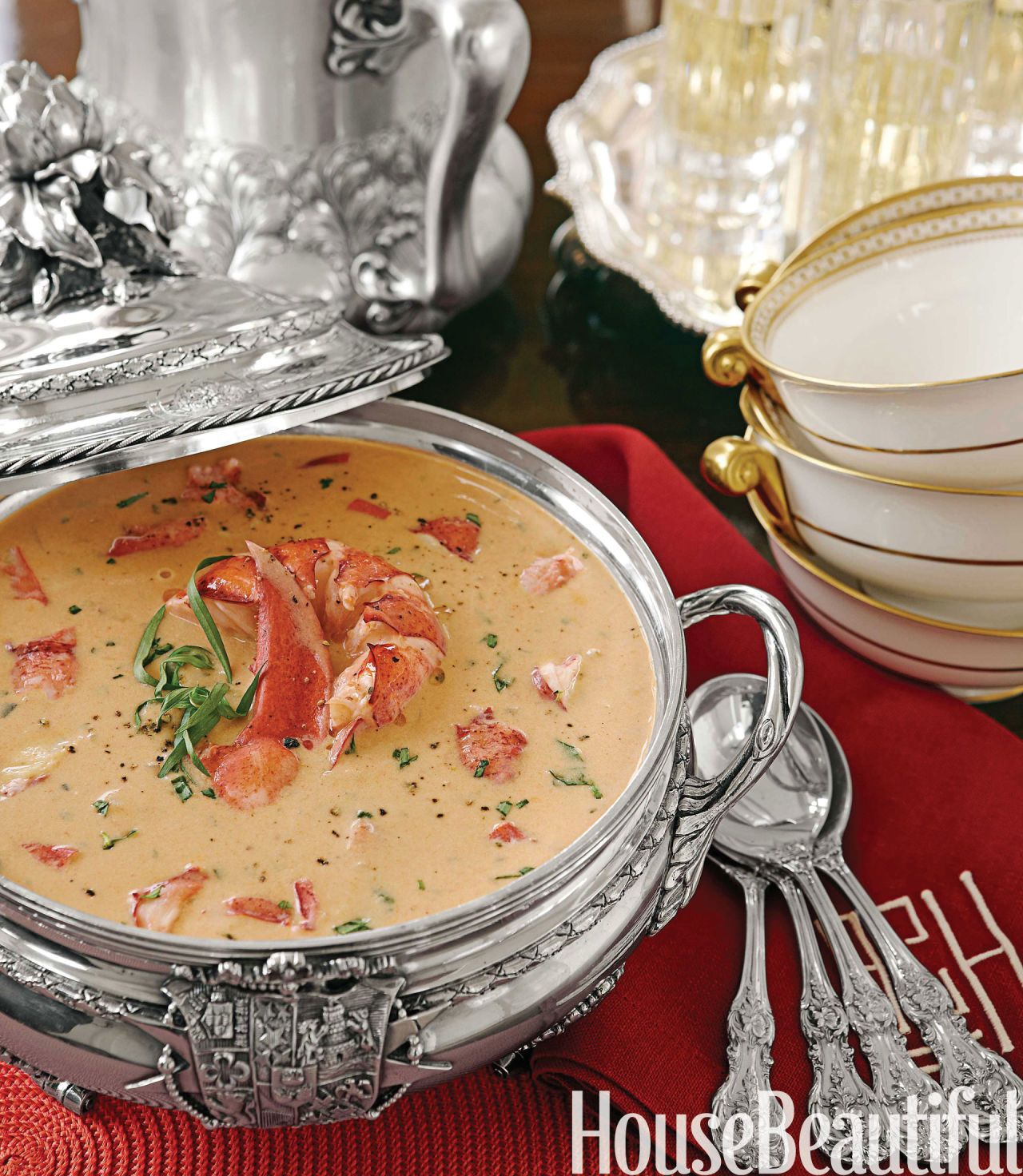 Lobster Bisque from Alex Hitz | Lobster bisque, Low carb and Stew