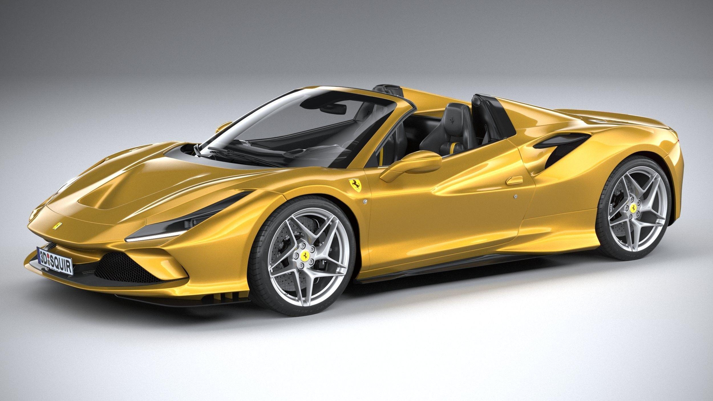 Ferrari F8 Spider 2020 Ferrari Sports Cars Luxury Lamborghini Cars