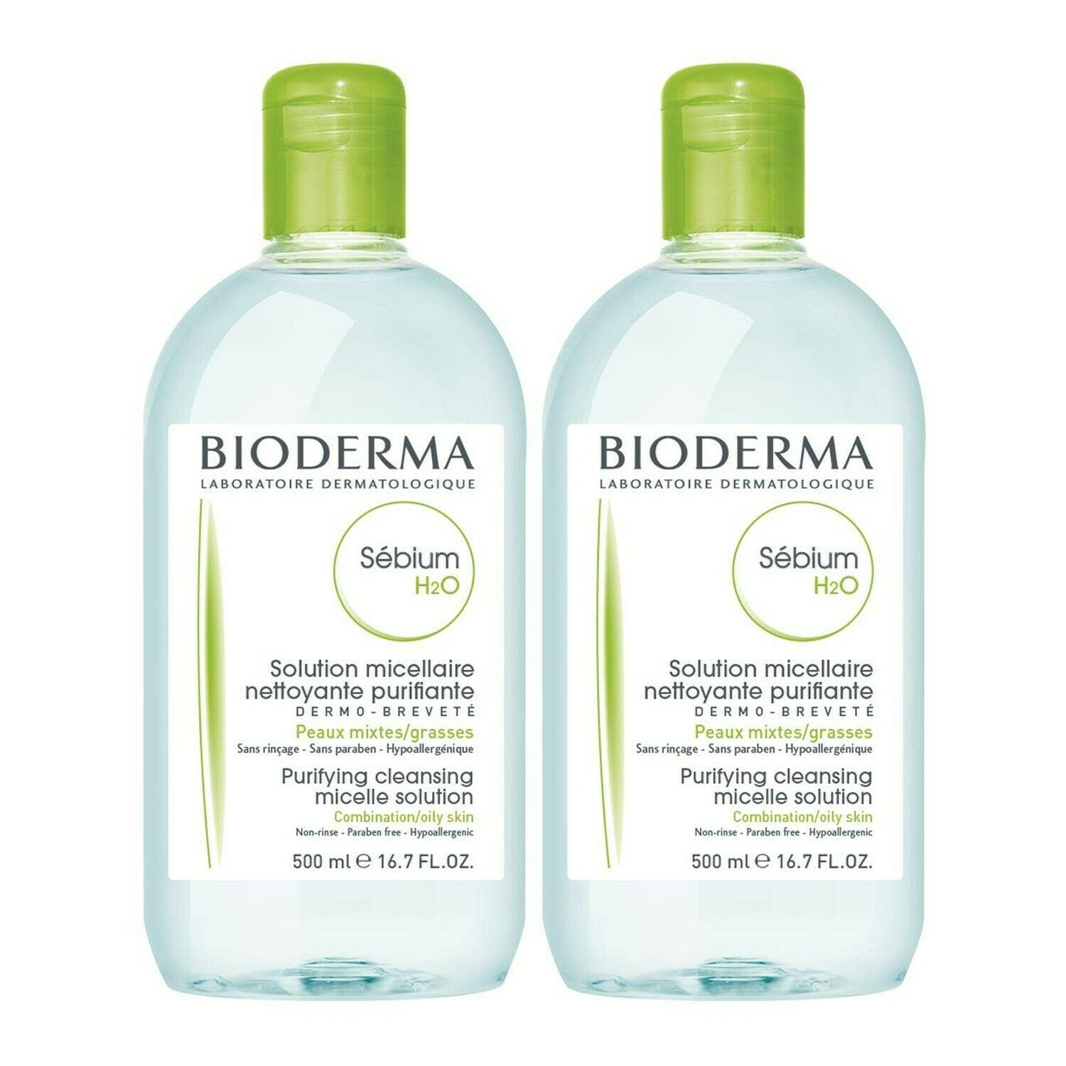 Bioderma Sébium H2O Purifying Micellar Cleansing Water and