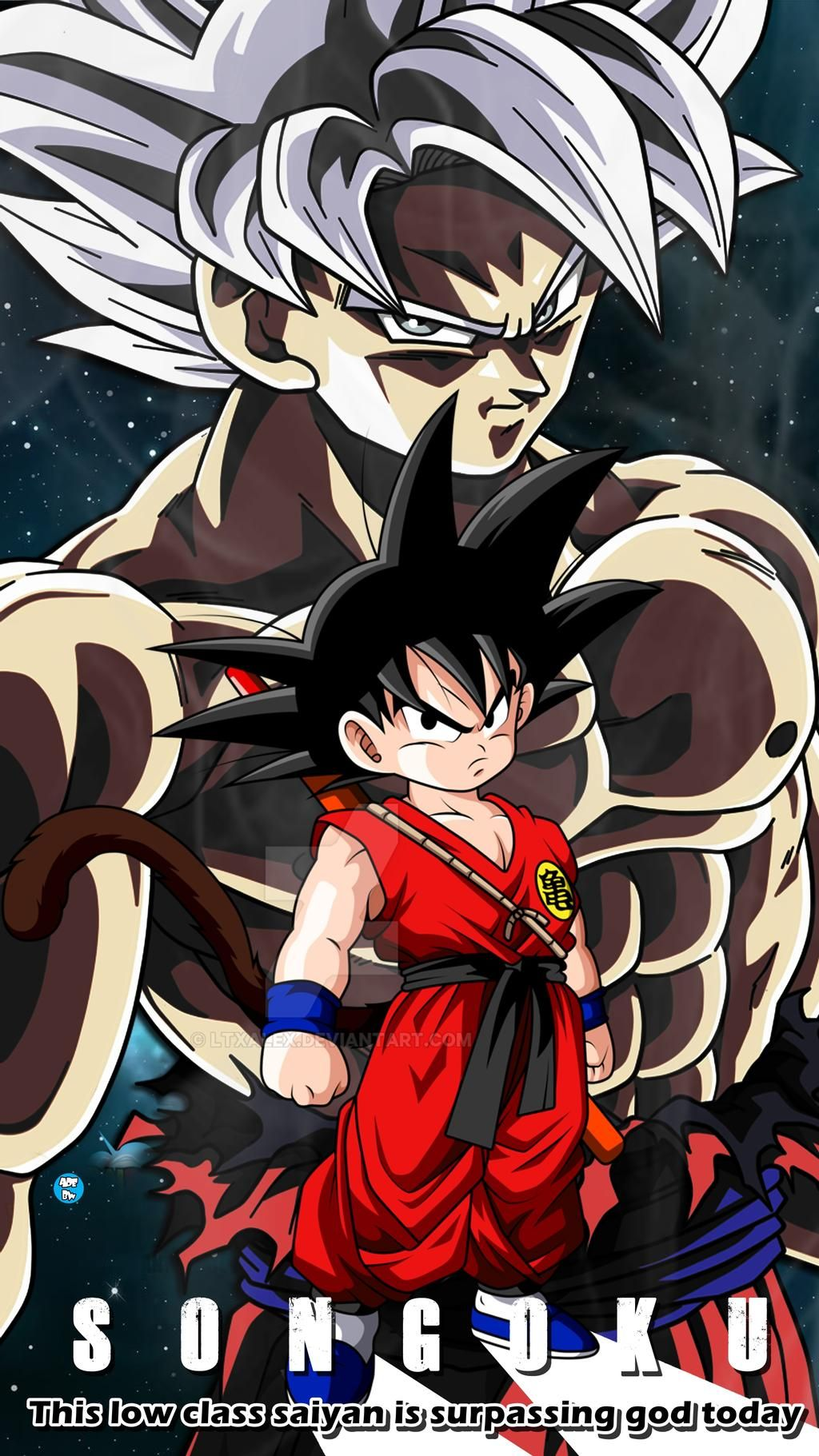 A Prince of Saiyan Defeating A God of Destruction by adb3388 on DeviantArt