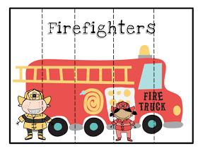 preschool printables community helpers puzzles
