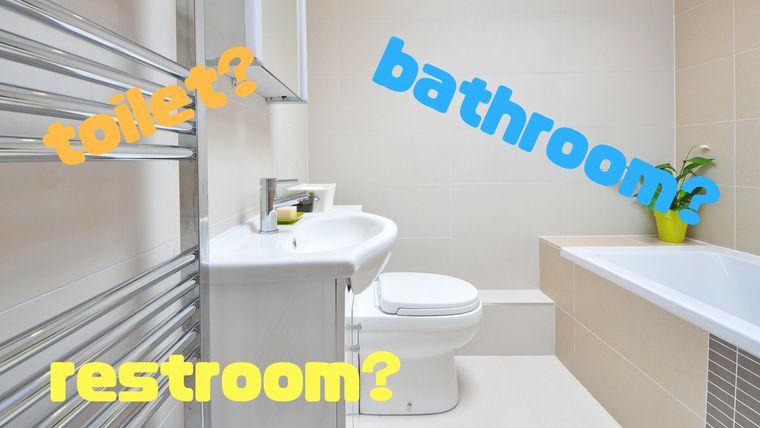 トイレを意味する単語は「toilet」・「restroom」・「bathroom ...