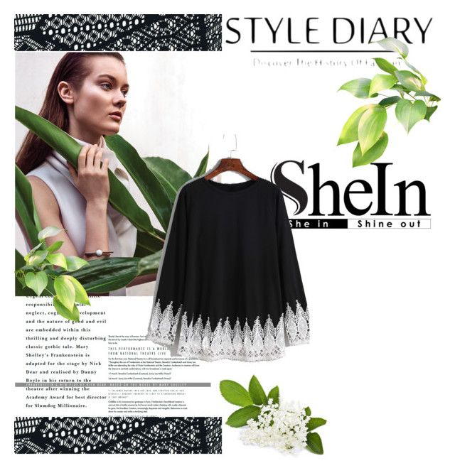 """Green"" by lader ❤ liked on Polyvore featuring shein"