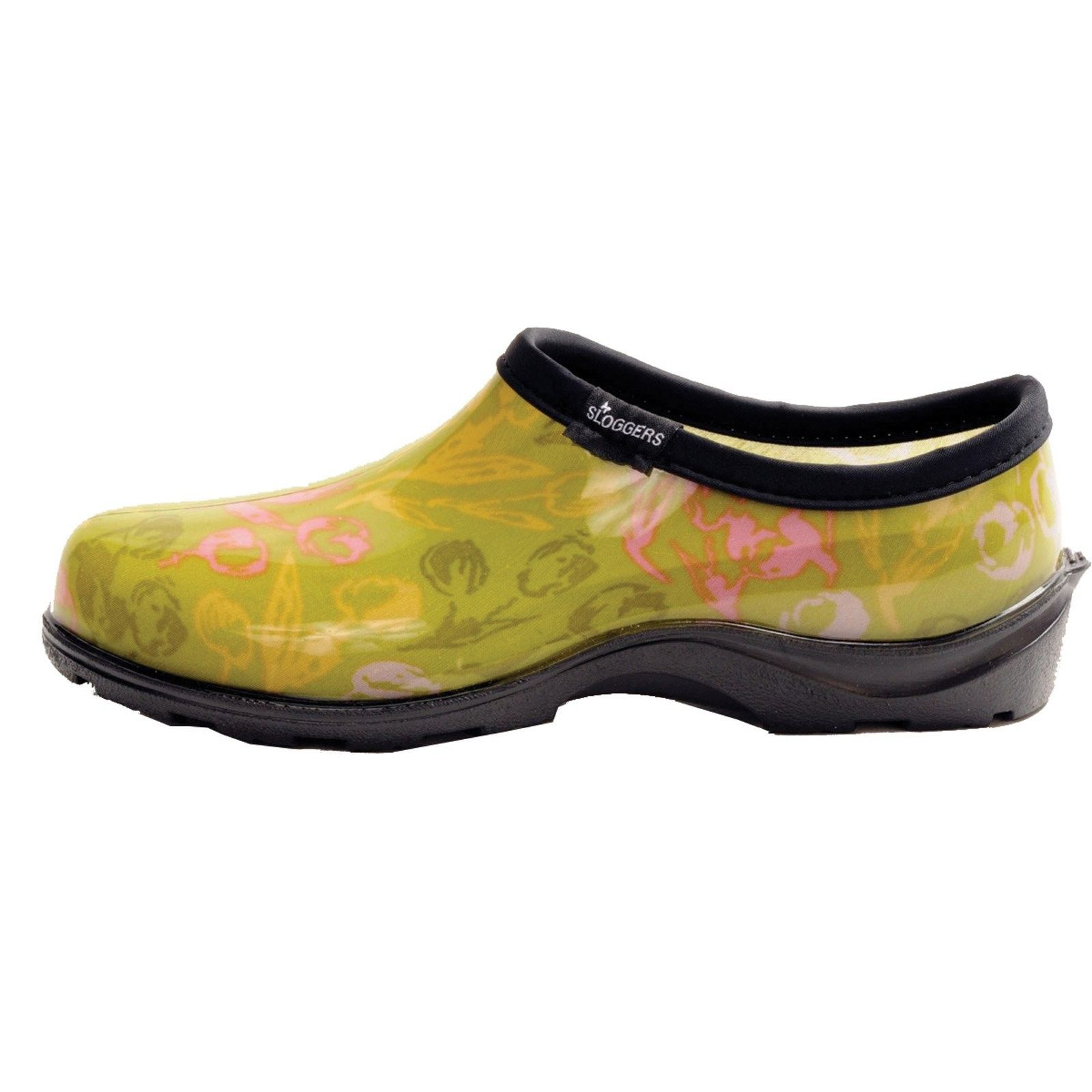Sloggers Tulip Green Shoes Green shoes, Shoes, Rubber clogs