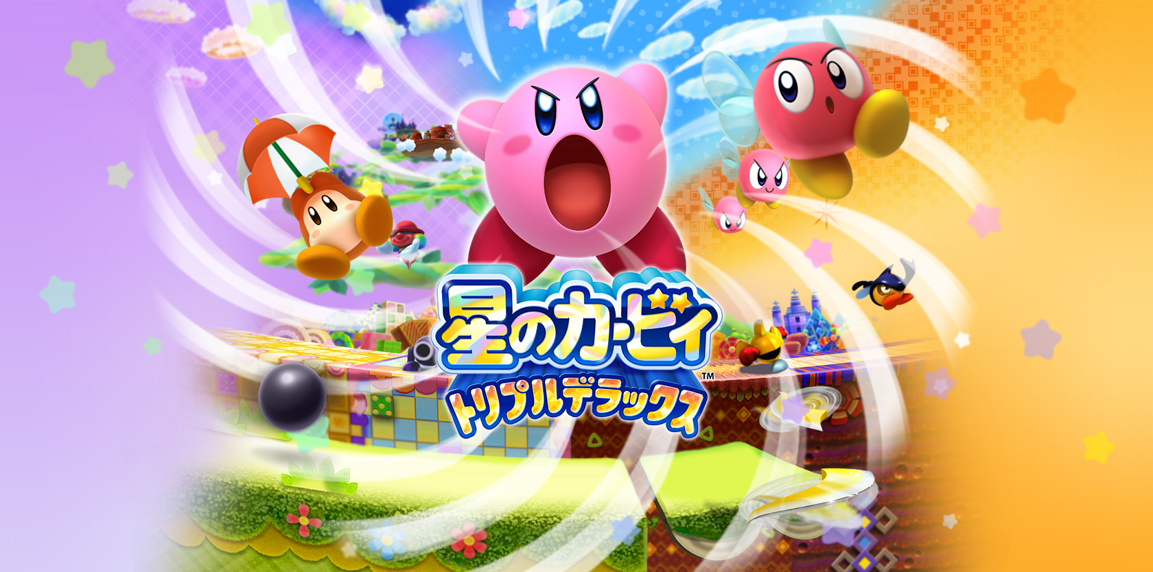 Kirby Triple Deluxe Video Games Wallpapers Kirby All Games Asian Artwork