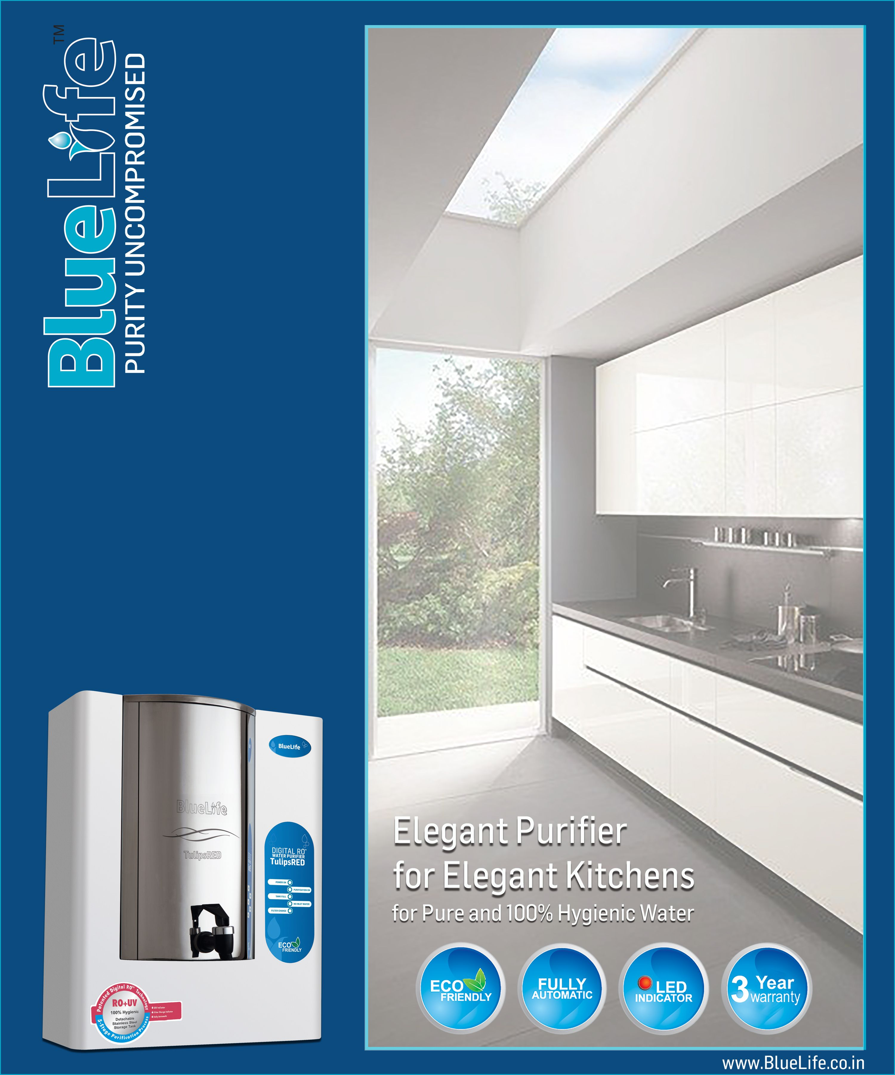 BlueLife™ Premium Range of Residential Water Purification