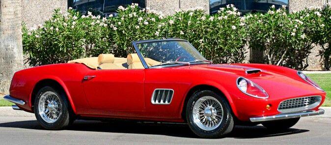 1961 Ferrari 250 GT California. | Cars, Top cars, Cars ...