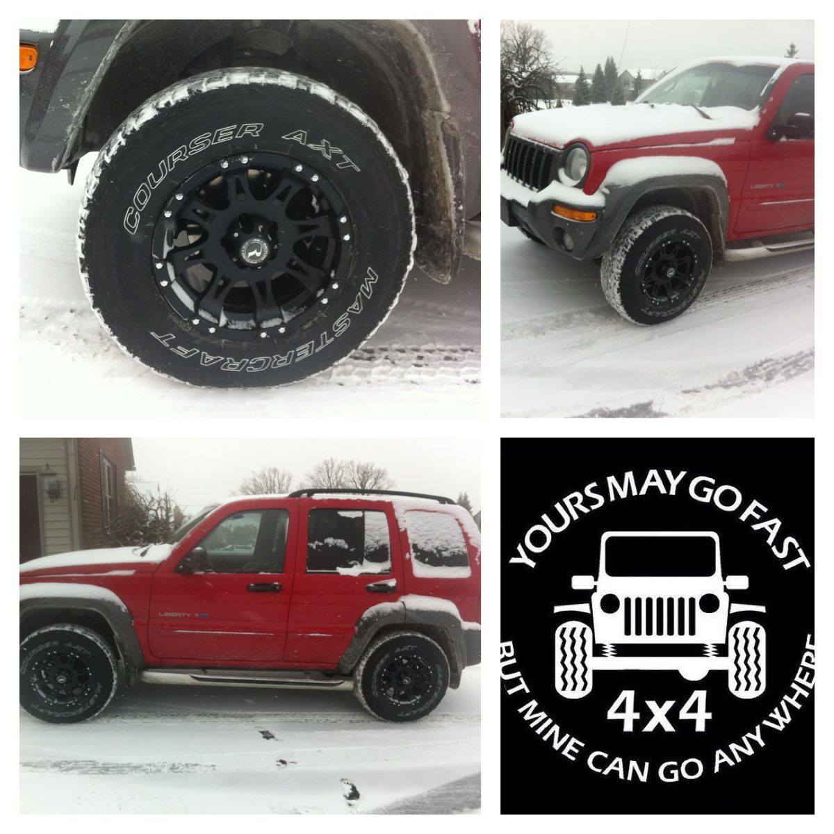 02 Jeep Liberty Lifted 3 Inches With 31 Tires And 16 Rims Jeep