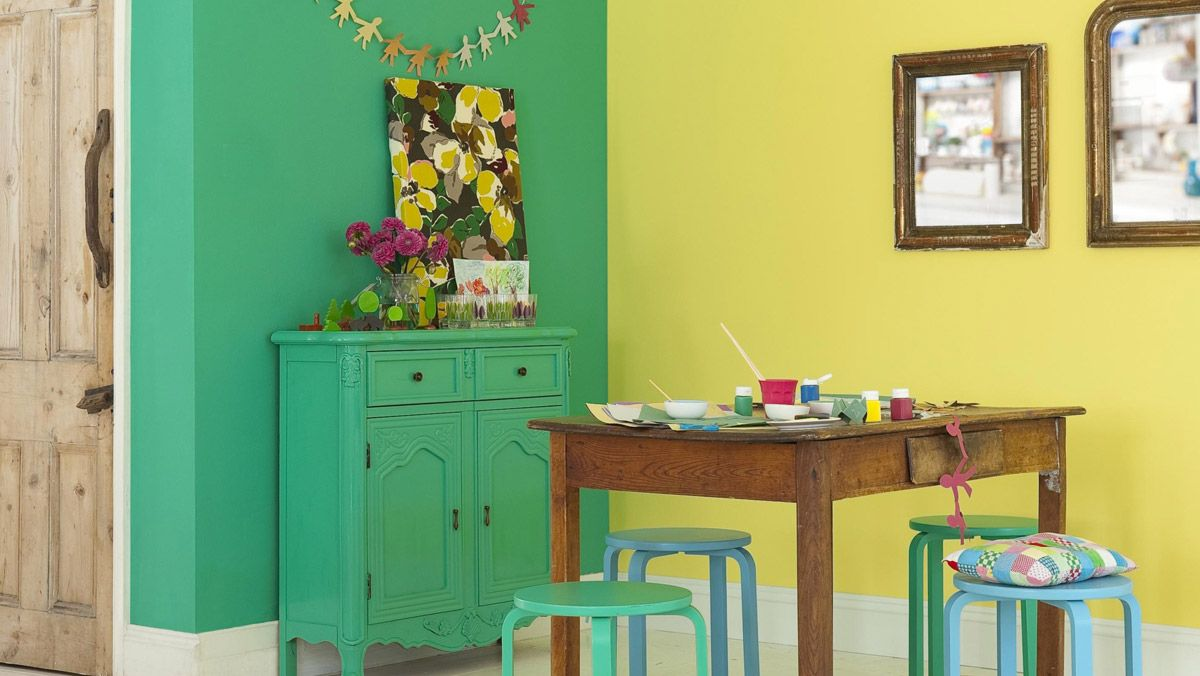 dining room | rooms | dulux - spring breeze 3 and forest falls 1