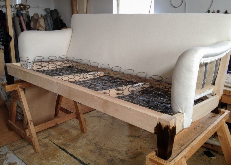 12 Howard Sofa Process Of Making In Traditional Way