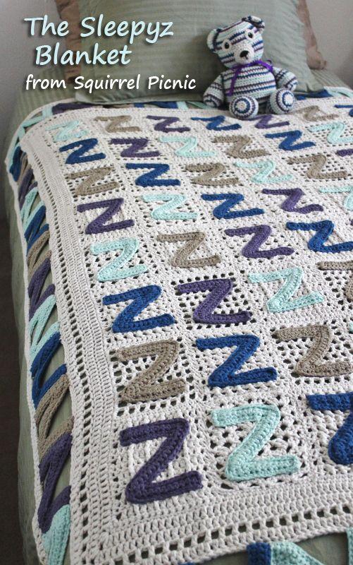 Kids love to cuddle up under the Sleepyz Blanket. Free crochet ...