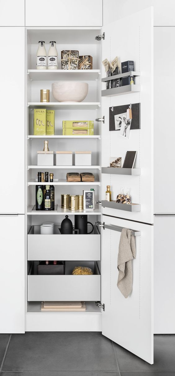 SieMatic INSIDE For Tall, Wall, And Base Cabinets: Up To 30% More