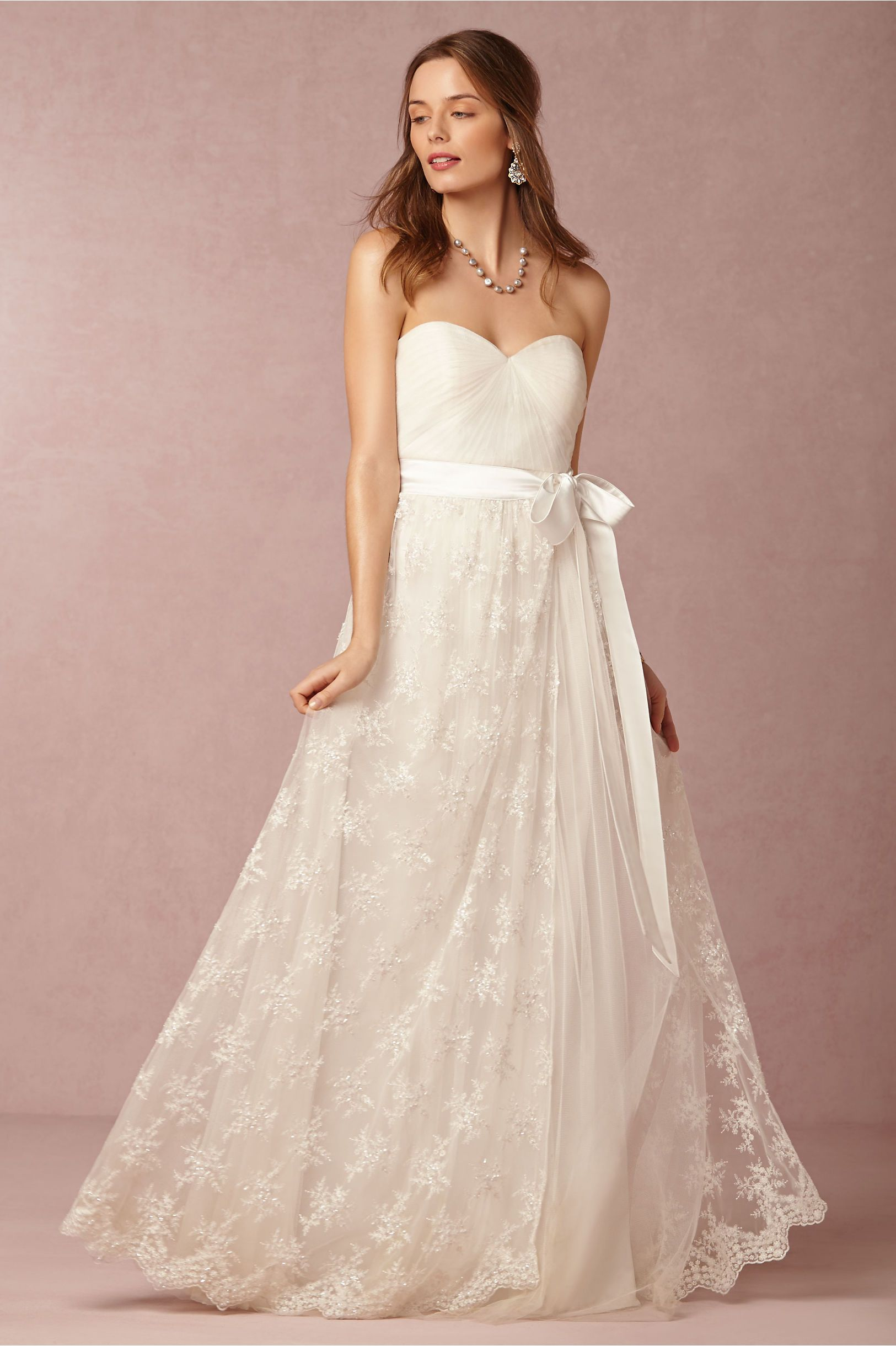 Bridal Separates From Bhldn Julia Skirt And Annabelle Dress