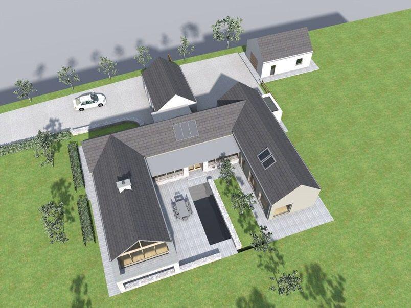 Castlelough 2012 By Darragh Quinn Architects Modern Barn House Barn Style House House Designs Ireland