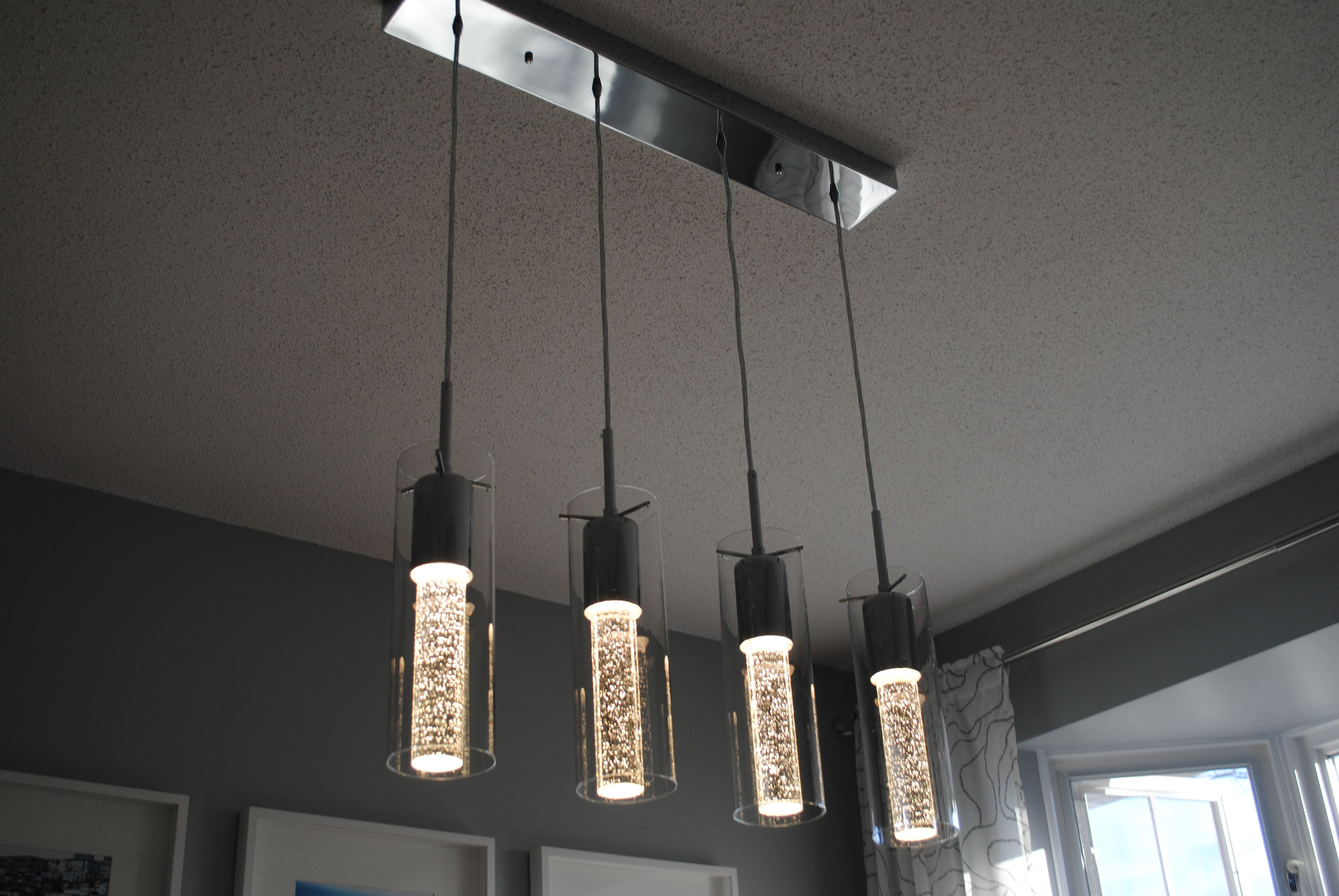 Costco Champagne Pendants | lamparas + | Pinterest
