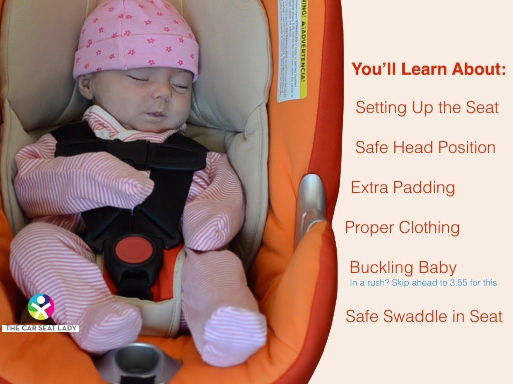 Newborn Car Seat Set Up What Every Parent Needs To Know To Buckle Their Newborn