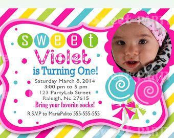 candyland invitation sweet candyland party sweet lollipop printable invitation d598
