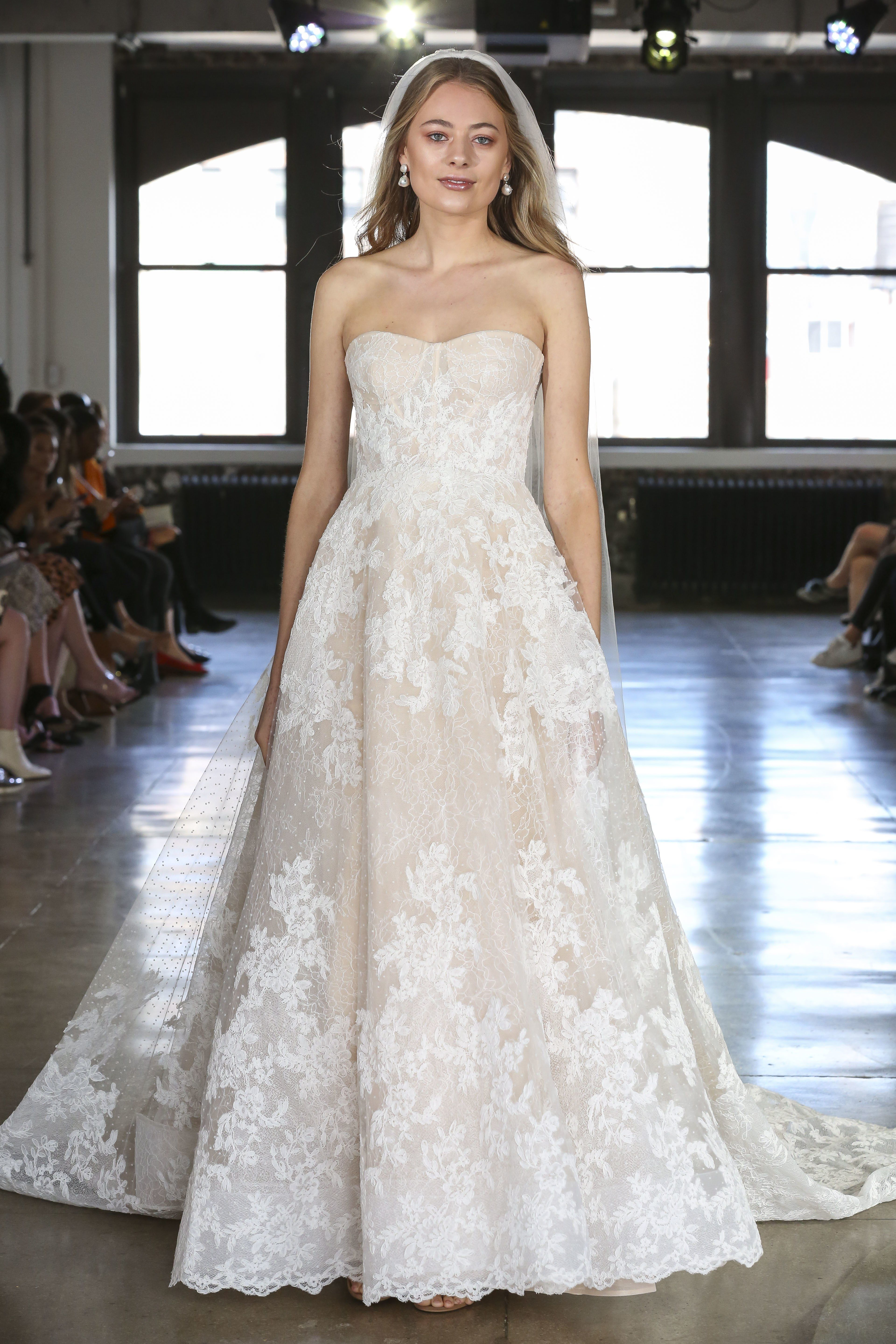 Watters Bridal Wedding Dress Collection Fall 2019 Brides: Pink Wedding Dresses By Watters At Reisefeber.org