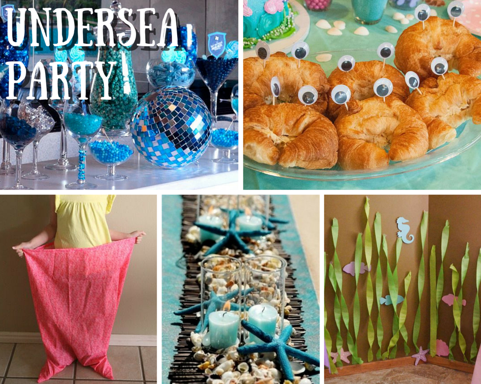 Beach Theme Birthday Party Ideas With
