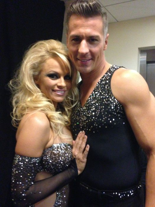 Pamela Anderson and Matt Evers dated in 2013