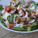 BBQ Chicken Salad & memories of home